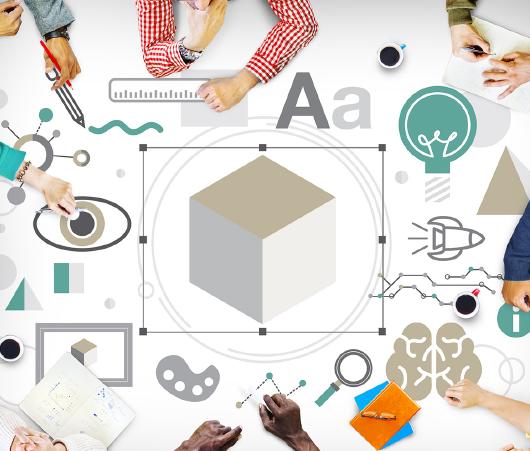 考える・つくる・デザインするの各サービス提供