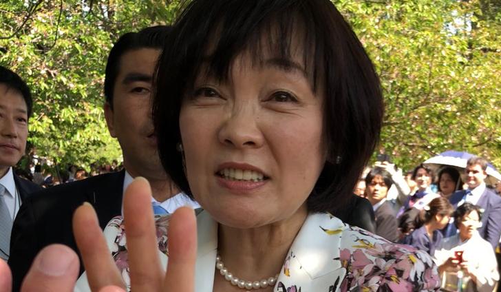 安倍昭恵夫人/2018年桜を見る会