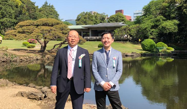 立派な新宿御苑/2018年桜を見る会